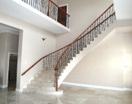 Polished Cappuccino stone staircase supplied to Guyana