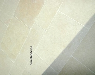 King Galala Limestone Tiles & Steps - 20:30:40cm x Free Length x 2cm Tumbled