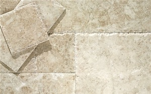 Cappuccino Marble Opus Pattern Honed Tiles