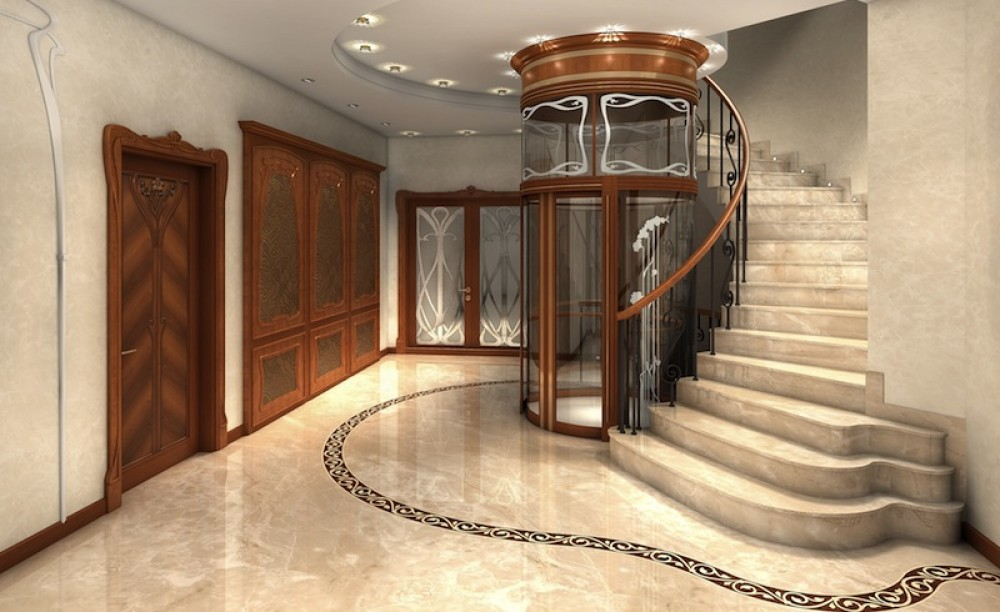 Marble Stairs & Wrought Iron Railing Supplier